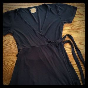 RVCA slater wrap dress